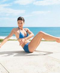 Anti cellulite exercises thighs