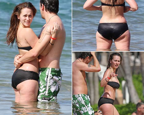 Jennifer Love Hewitt cellulite buttocks
