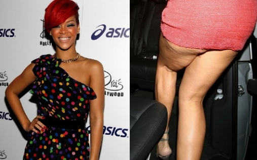 Rihanna cellulite photo 2013