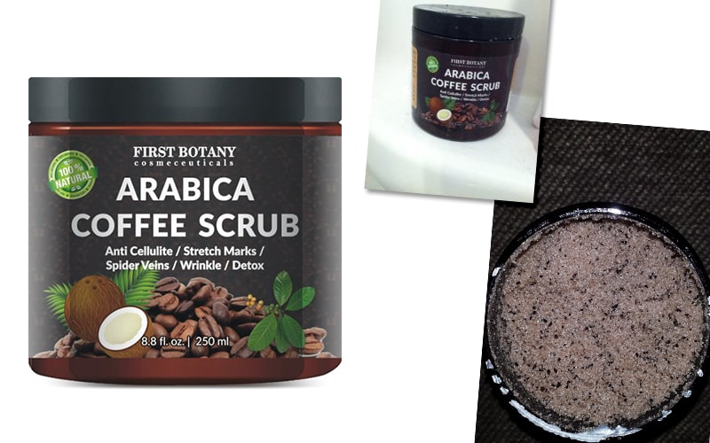 100% Natural Arabica Coffee Scrub
