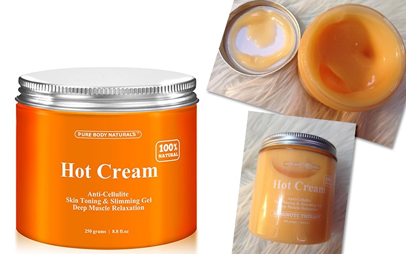 Hot Cream Pure Body Naturals
